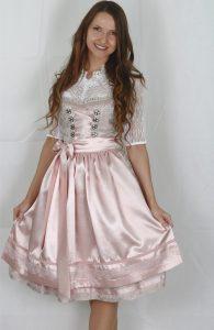 Hofer Trachtenlod´n - Dirndl in einer rosa/beige Kombination