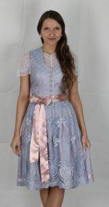 Hofer Trachtenlod´n - Dirndl in einer rosa/blau/weiß Kombination