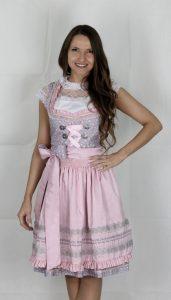 Hofer Trachtenlod´n - Dirndl in einer rosa/lila/weiß Kombination